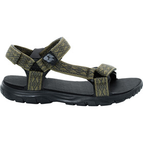 Jack Wolfskin Seven Seas 2 Sandals Men burnt olive